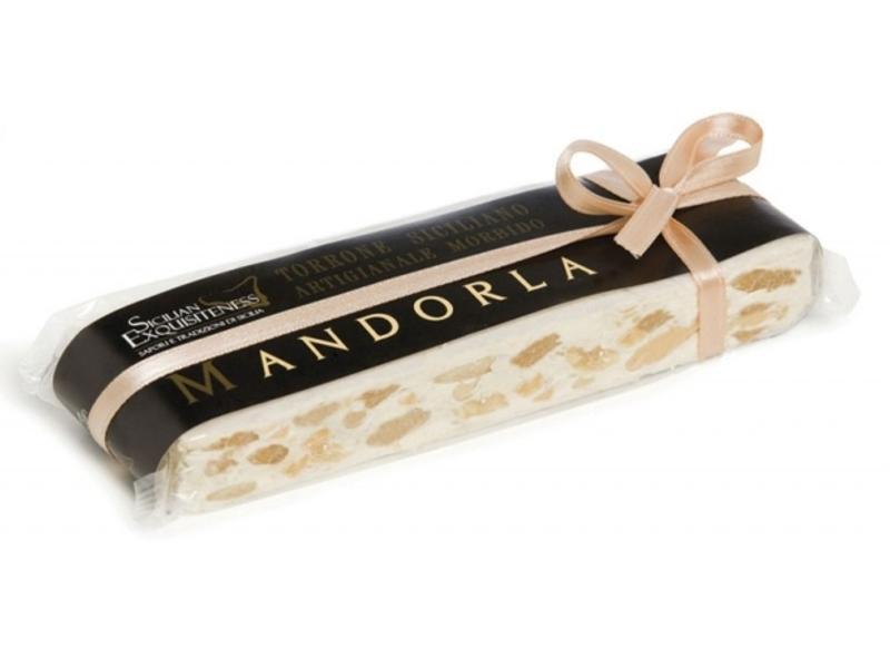 Echte Siciliaanse amandel nougatNougat met Amandelen