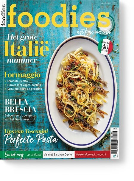 Korting code van Foodies magazine