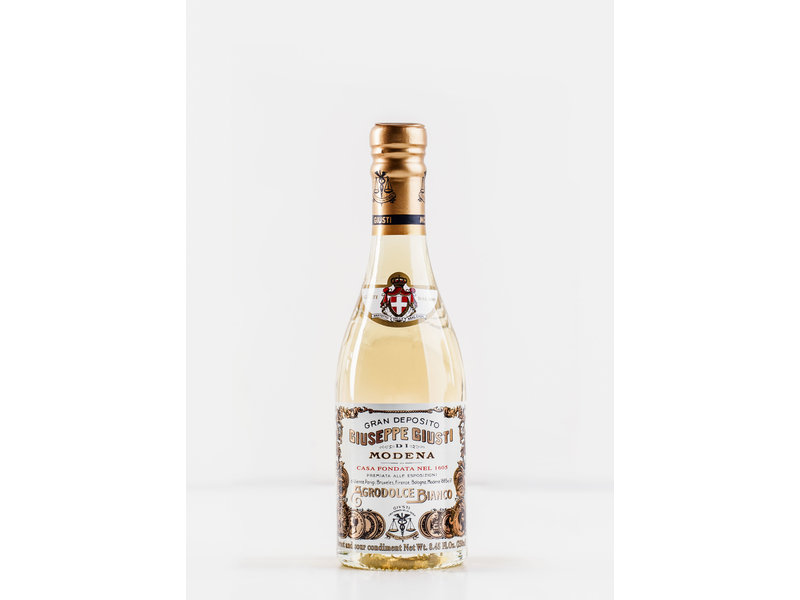 Giuseppe Giusti Aceto Bianco, een heerlijke blanke dressing 250 ml