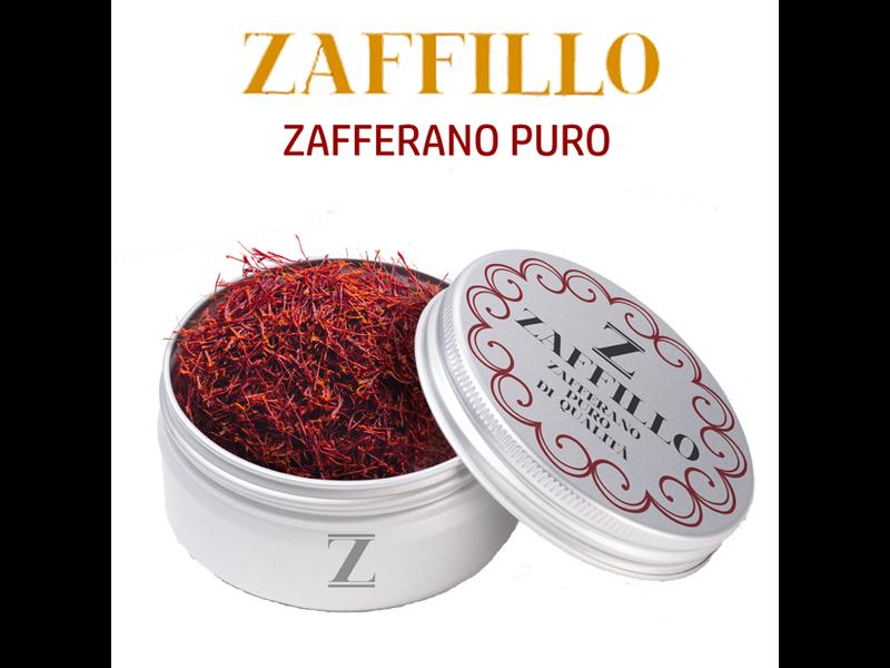 Zaffillo Zeta, Grappa 18 maanden met saffraan