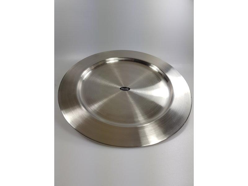 Vocelli Onderbord  rvs 33 cm