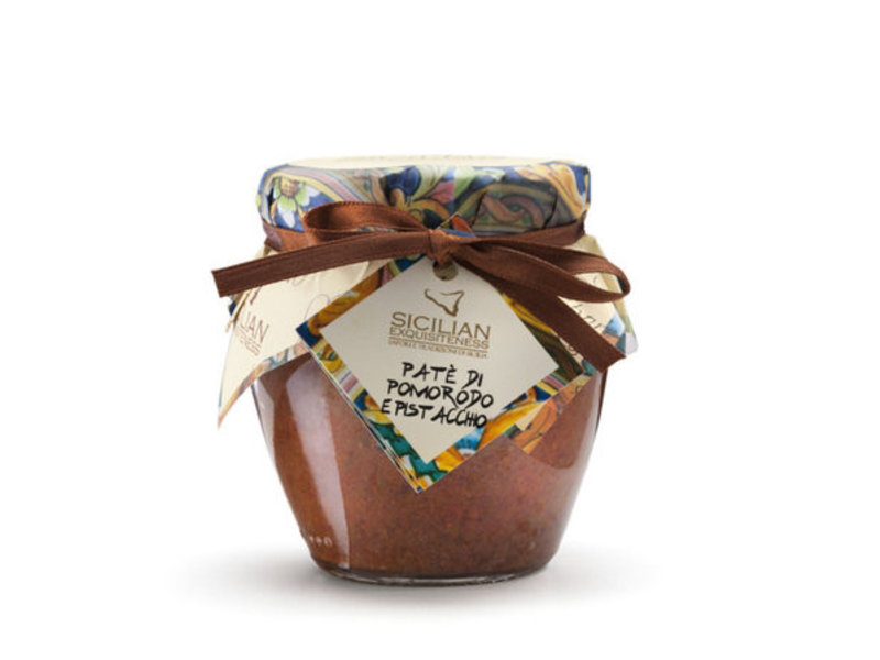 Daidone Siciliaanse tapenade gemaakt van tomaat en pistache