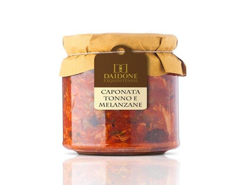 Daidone  Caponata tonijn en aubergine