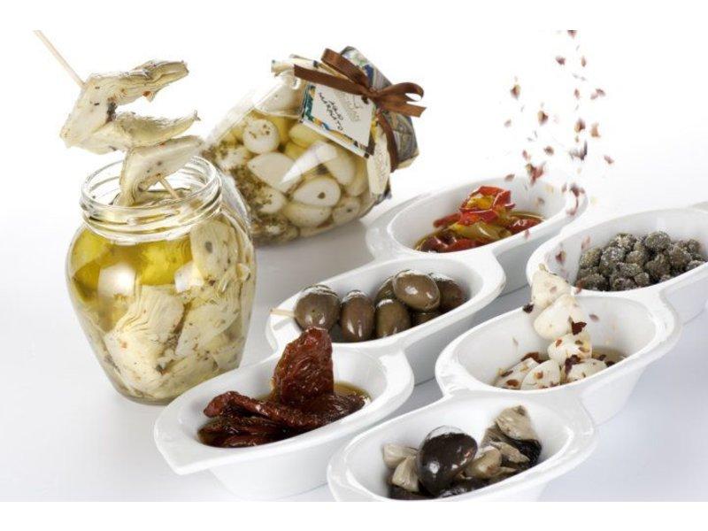 Gegrilde aubergine, een Italiaanse delicatesse
