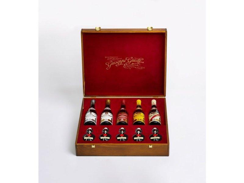 Giuseppe Giusti Aceto Balsamico 10 flessen in geschenkkist