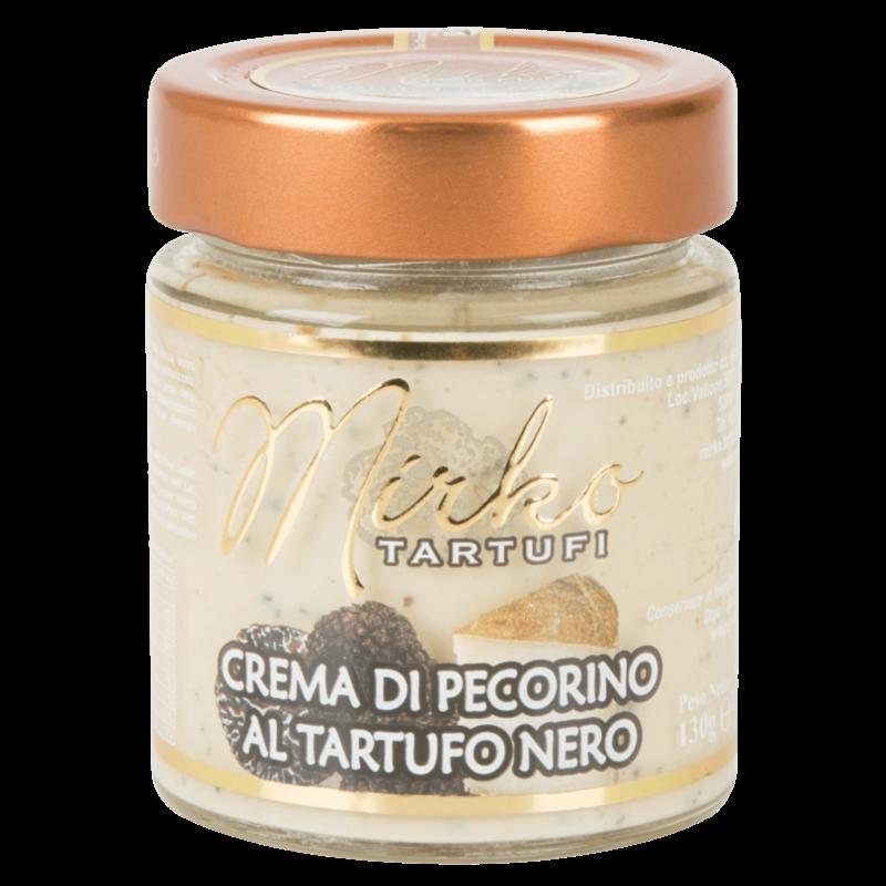 Mirko Tartufi Pecorino creme met zwarte truffel