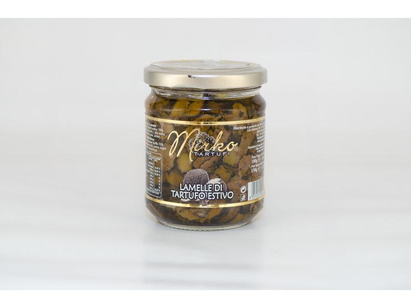 Mirko Tartufi Zomertruffel plakjes in olijfolie