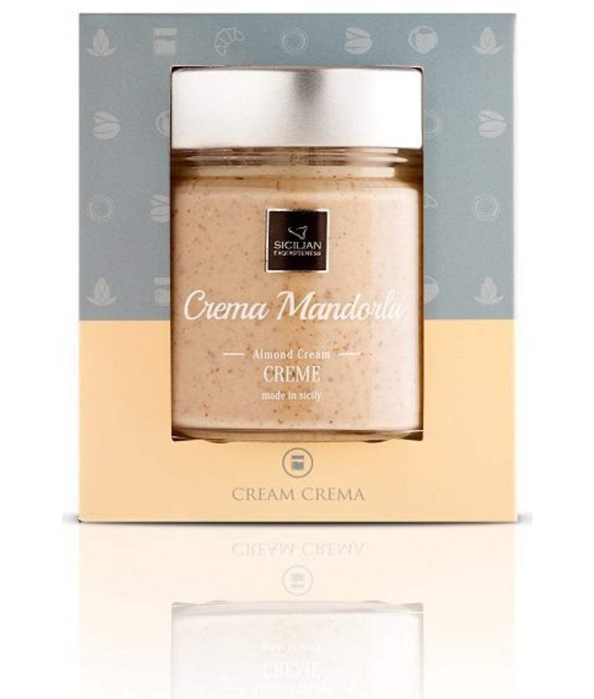 Crema Mandorle, Amandel pasta uit Sicilie