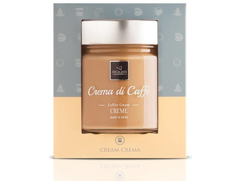Italiaanse creme pasta met koffie, uit Sicilië
