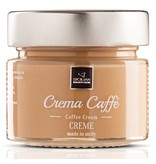 Italiaanse creme pasta met koffie, crema caffé