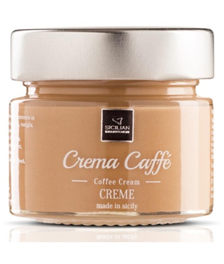 Heerlijke Italiaanse koffie creme, crema caffé
