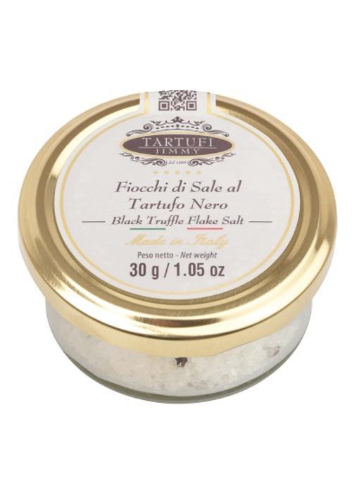 Maldon zout-vlokjes met Zwarte Truffel