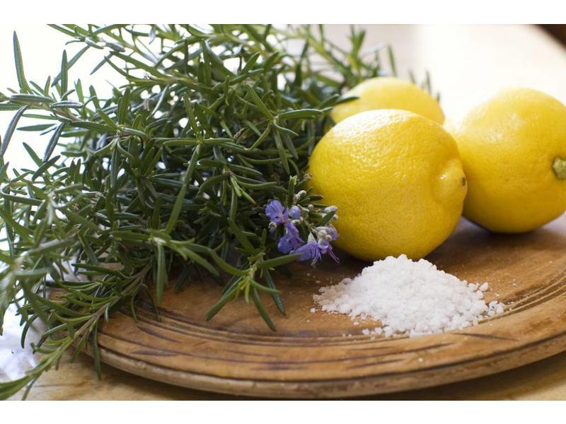 Zeezout uit Trappani, bereid met Siciliaanse citroen
