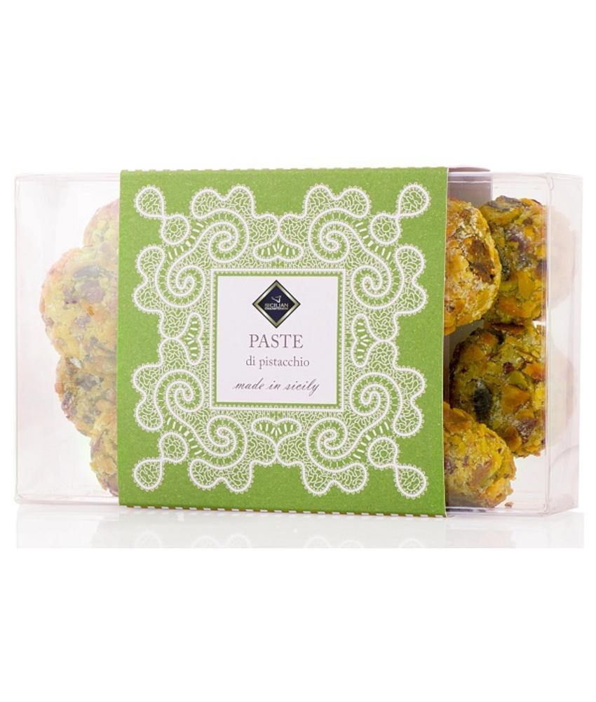 Pistacchio Paste, zachte pistache biscuit