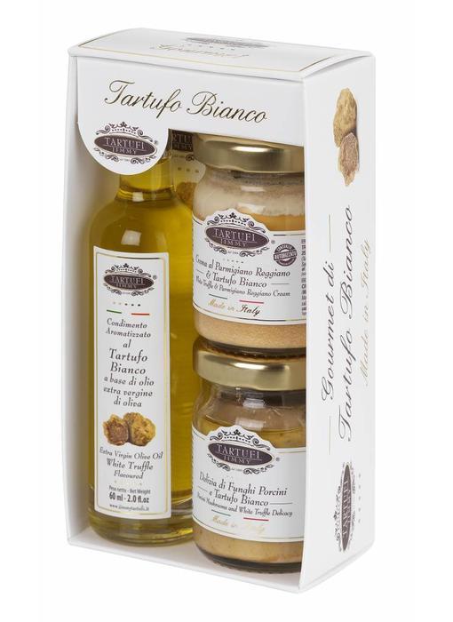 Tartufi Jimmy Witte truffel cadeau pakket