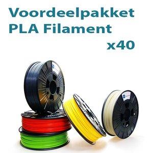 Filament-shop Voordeelpakket PLA 40x
