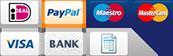 Betaalmethoden Filaments-shop.nl - Ideal, Pay Pal, Mastercard, Maestro, Visa, Bankoverschrijving, Achteraf betalen