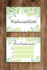 50 Musikwunschkarten für Hochzeit oder Geburtstag - Copy