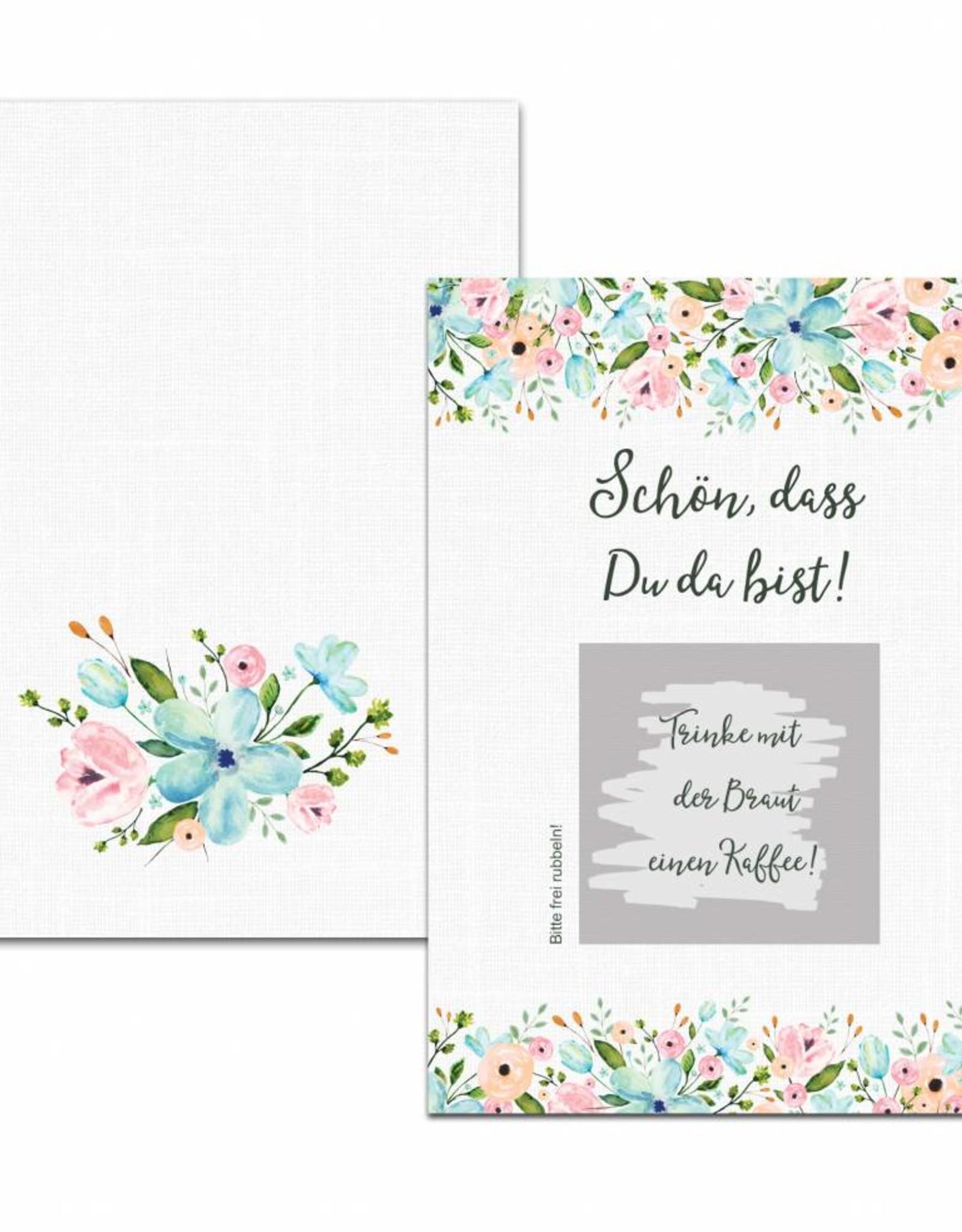 """50 Rubbelkarten """"Weiße Hochzeit"""""""