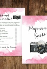 "50 Fotokarten ""Aquarell Hochzeit"""