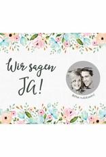 Save the Date Rubbelkarten für die Hochzeit, 25 Stück