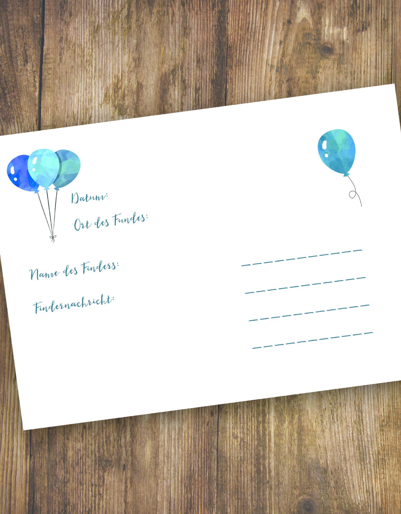50 Ballonflugkarten für Kinder