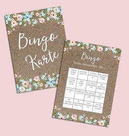 Hochzeitsbingo 50 Karten