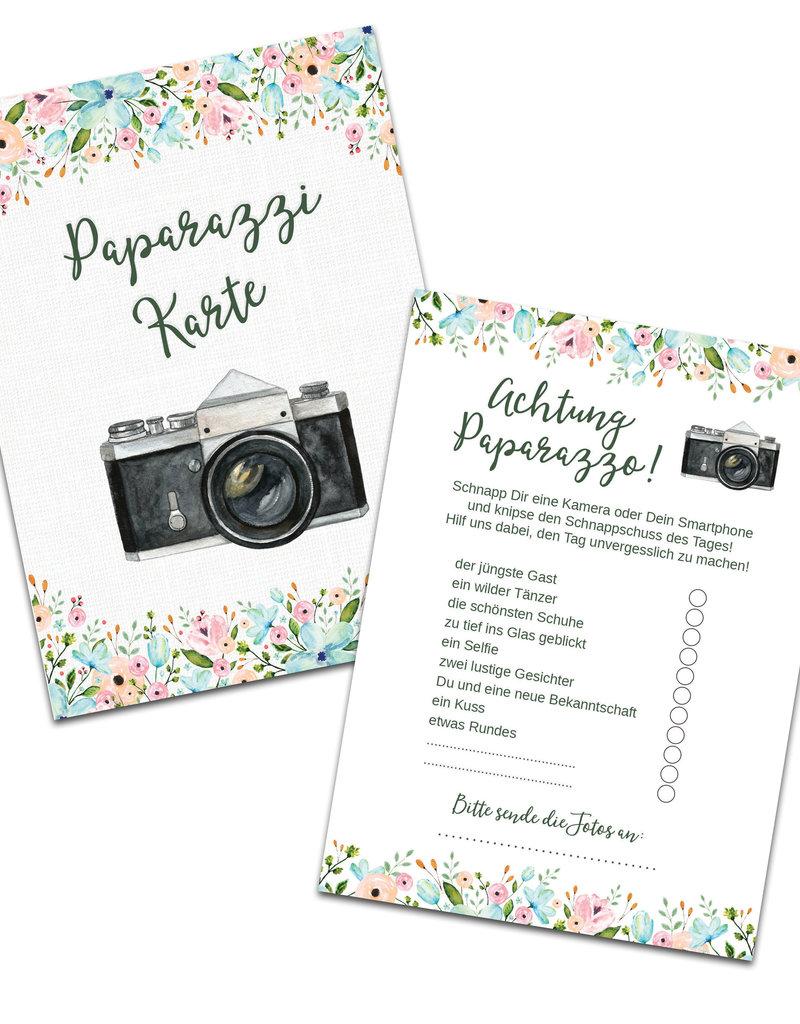 """50 Fotokarten """"Weiße Hochzeit"""""""