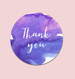"50 Sticker ""Thank you"""