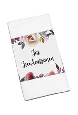 """50 x Banderole """"Für Freudentränen"""" BOHO Hochzeit"""