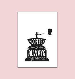 Poster Kaffeemühle