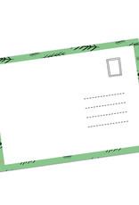 """Postkarte Weihnachten """"schattiges Plätzchen"""""""