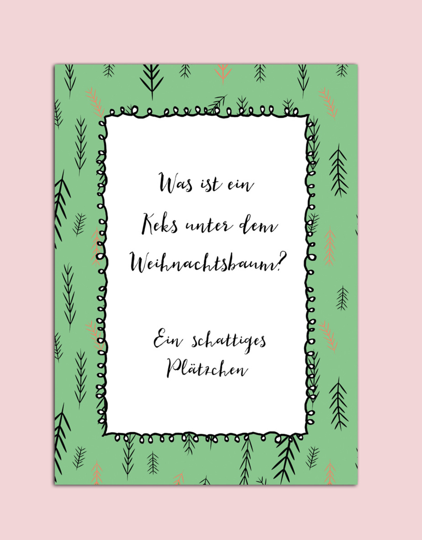 """Postkarten Set """"lustige Weihnachtskarten"""""""