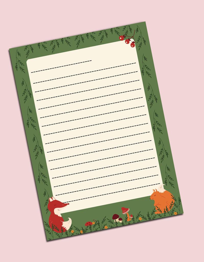 Briefpapier Set DIN A5 Briefpapier Kinder inkl. Umschläge