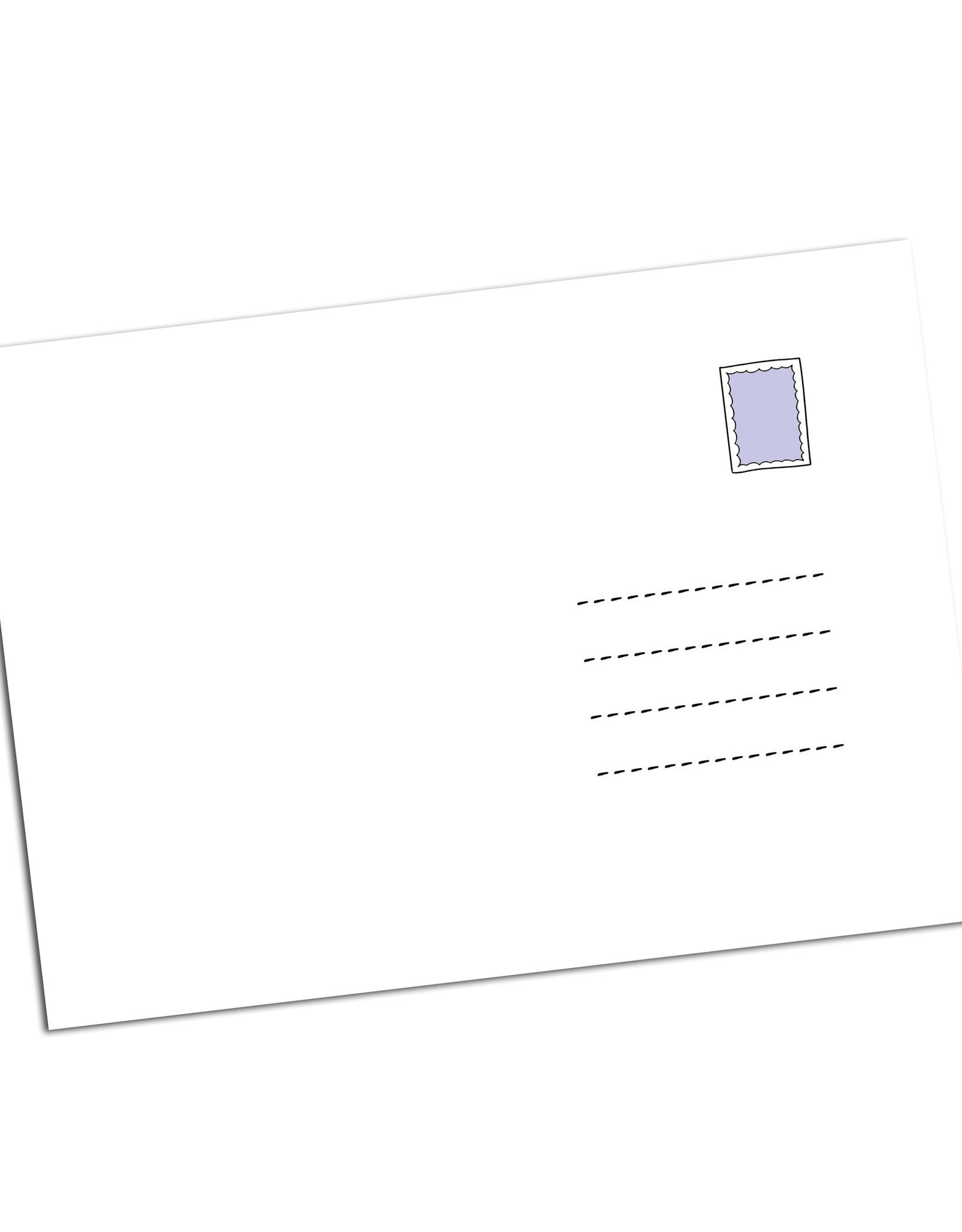 100 Postkarten Danke für den Einkauf Dankeskarten Grußkarten Postkarten Set