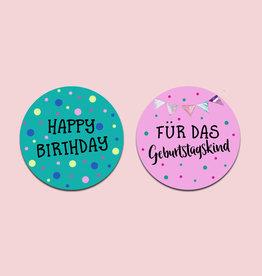 50 Sticker Geburtstag