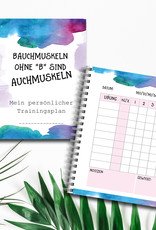 Trainingsbuch DIN A5 Tagebuch für das Training To Do Liste Sport