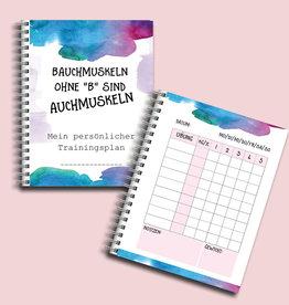 Trainingsbuch DIN A5 Tagebuch für das Training To Do Liste Sport