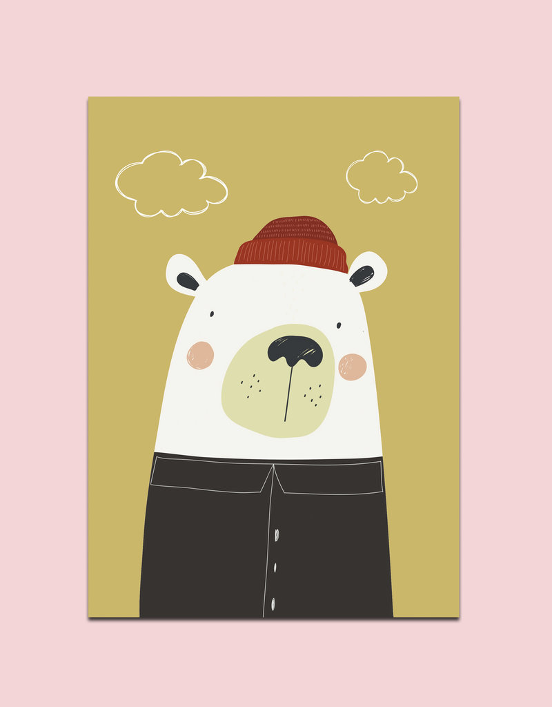 Kunstdruck 3er Set Poster Tiere