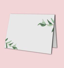 """Platzkarten Hochzeit 50 Stück """"Eucalyptus Hochzeit"""""""