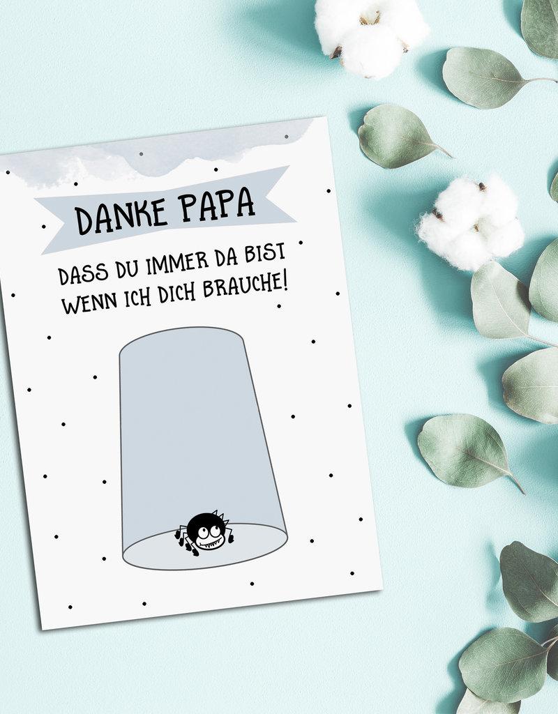 Vatertagskarte, Postkarte Vatertag, Vatertagskarten, Vatertagsgeschenk, Vatertag Geschenkideen