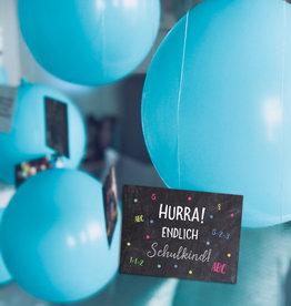 10 x Ballonflugkarten Schulanfang