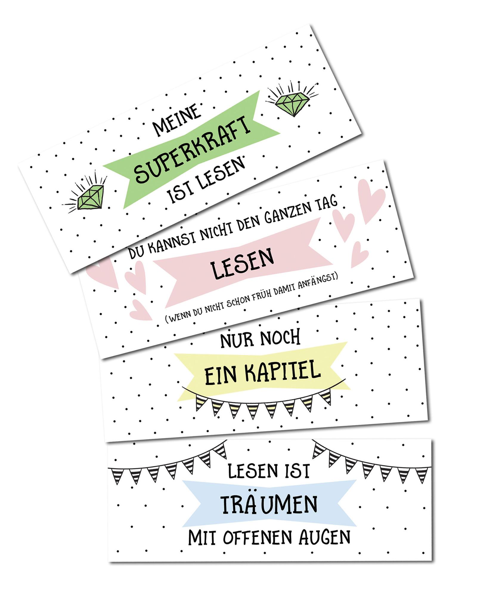 Lesezeichen mit Sprüchen Lezeichen Zitate