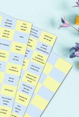 100 Ideen gegen Langeweile Kinder DRUCK Spiele Kinder Lose ziehen Kinder Spielideen
