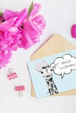 Kinder Postkarten Set zum selbst Beschriften Postkarten Tiere