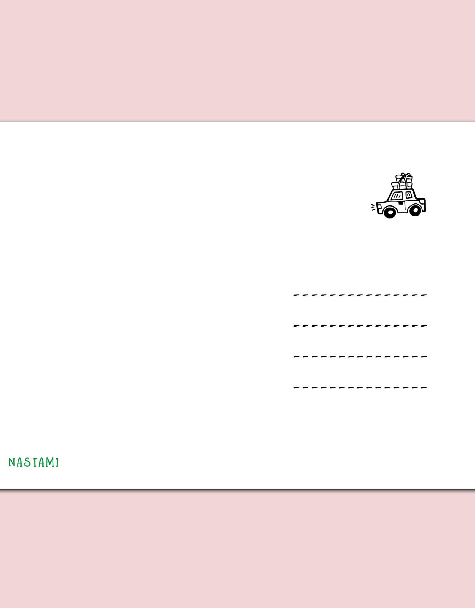 Postkarte FÜHRERSCHEIN inkl. Briefumschlag Füherschein Geschenk Führerscheinprüfung Geldgeschenk
