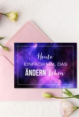 Postkarten Sprüche 12er Set UNIVERSUM Sprüche Postkarten Motivationskarten