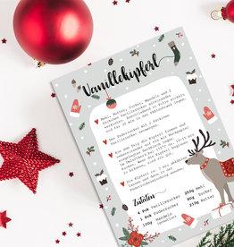 Weihnachtskarte Vanillekipferl Rezept