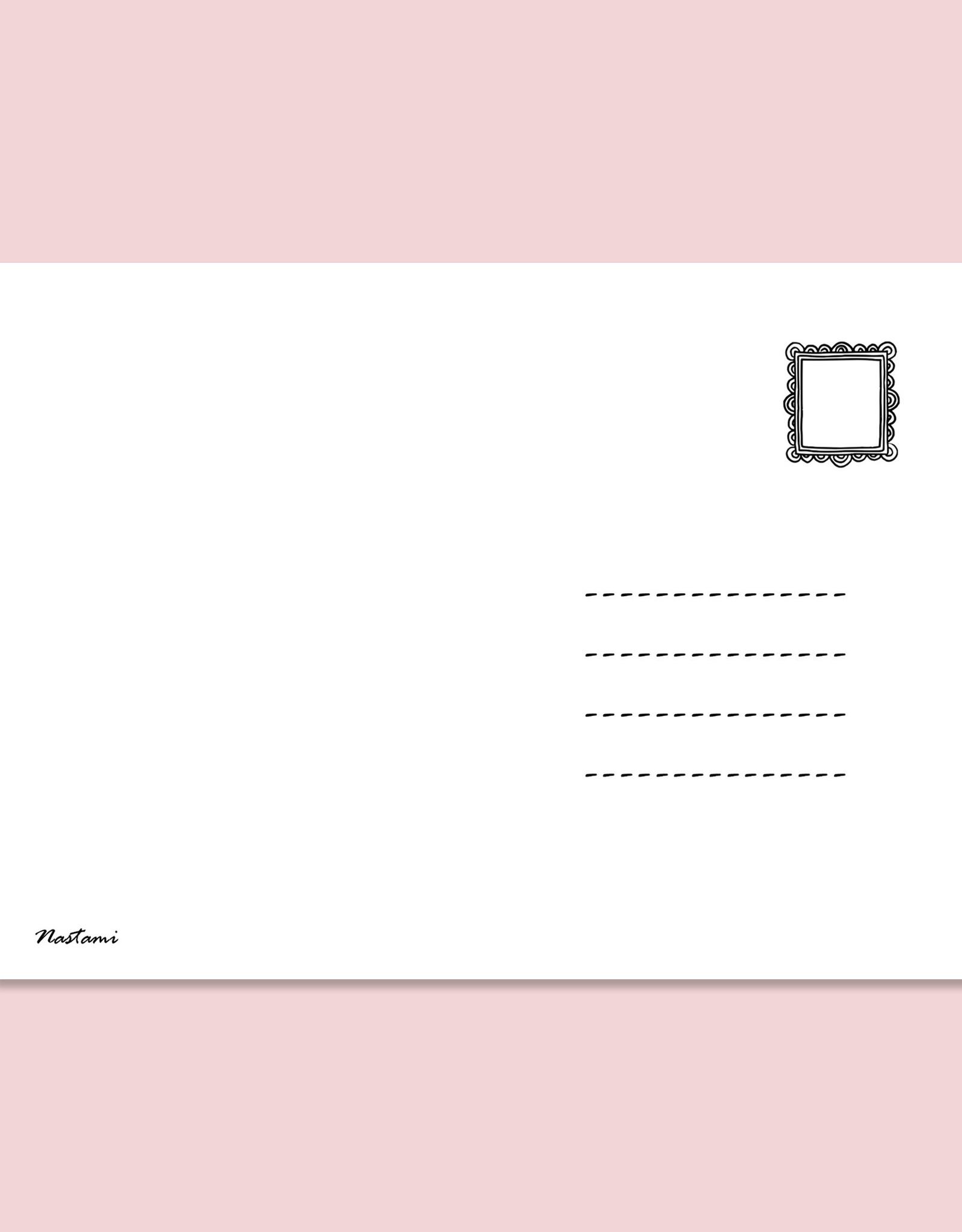 """Postkarte """"Hallo kleines Wunder"""" Geschenk Geburt Postkarte Baby Geschenk"""