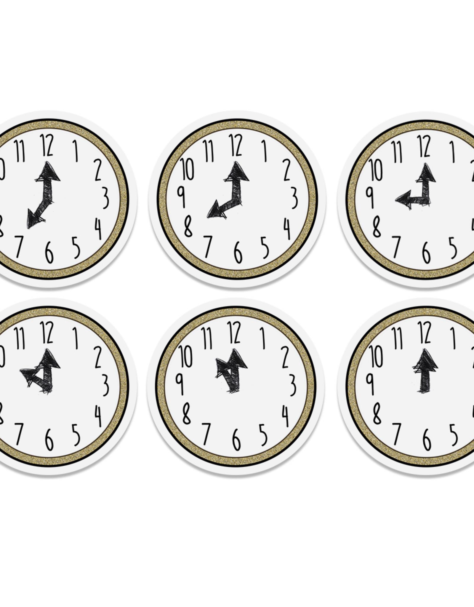 Silvester Countdown Tüten inkl. 6 Sticker Silvesterspiel für Kinder